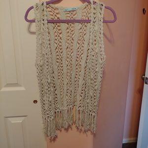 Maurice's crocheted vest